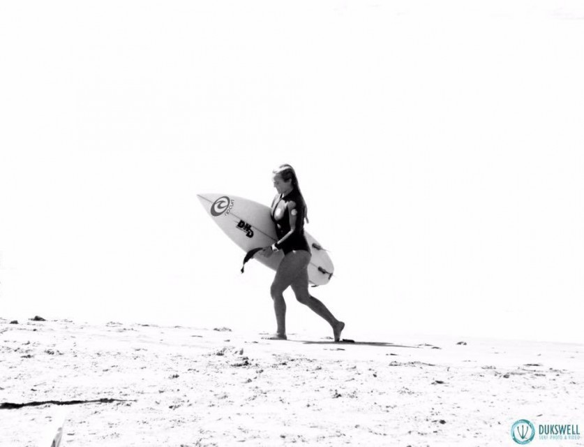 Lucia Cosoleto Invitada internacional al circuito profesional de Surf en Peru
